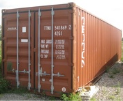 USED STEEL STORAGE CONTAINER - SHIPPING CONTAINER