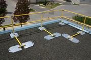 ROOF FALL PROTECTION,  KEY SAFETY ROOF RAILINGS,  FALL PROTECTION