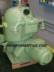 Westfalia oil purifier,  industrial centrifuge,  oil separators.