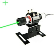 Clear Pointing 50mW 515nm Forest Green Cross Laser Alignment